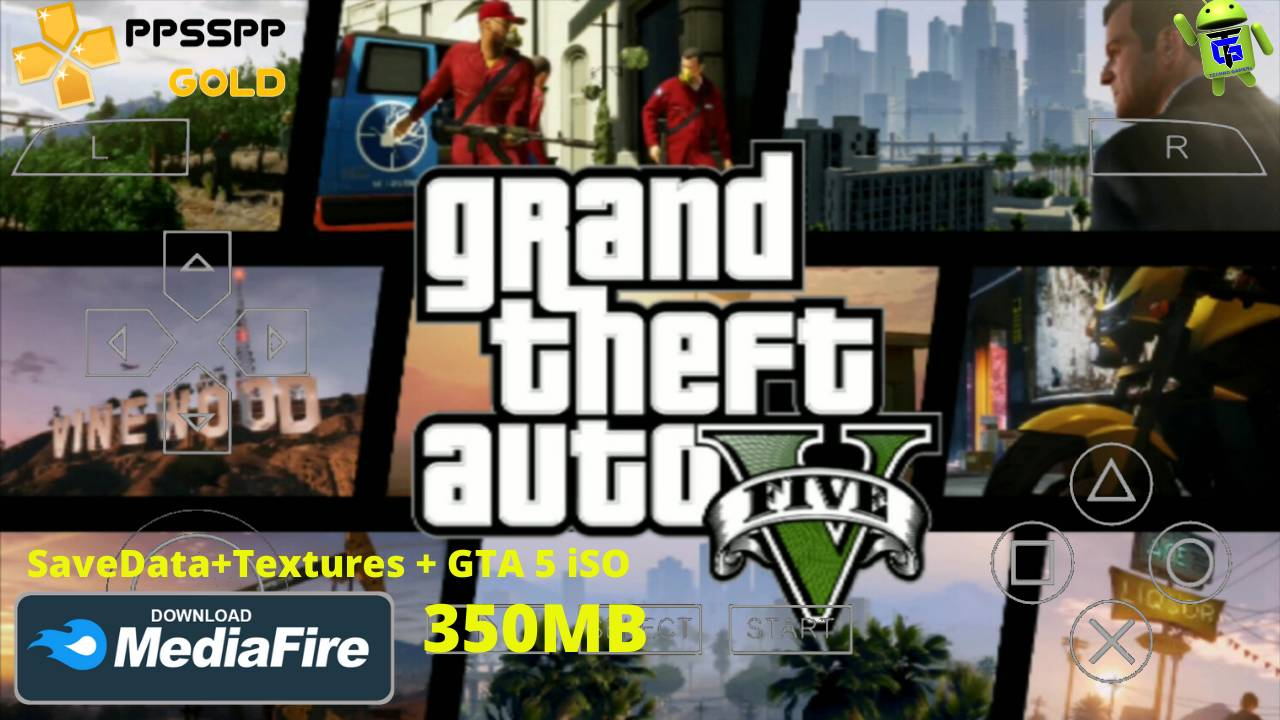 GTA 5 PPSSPP iSO Mod Data Android