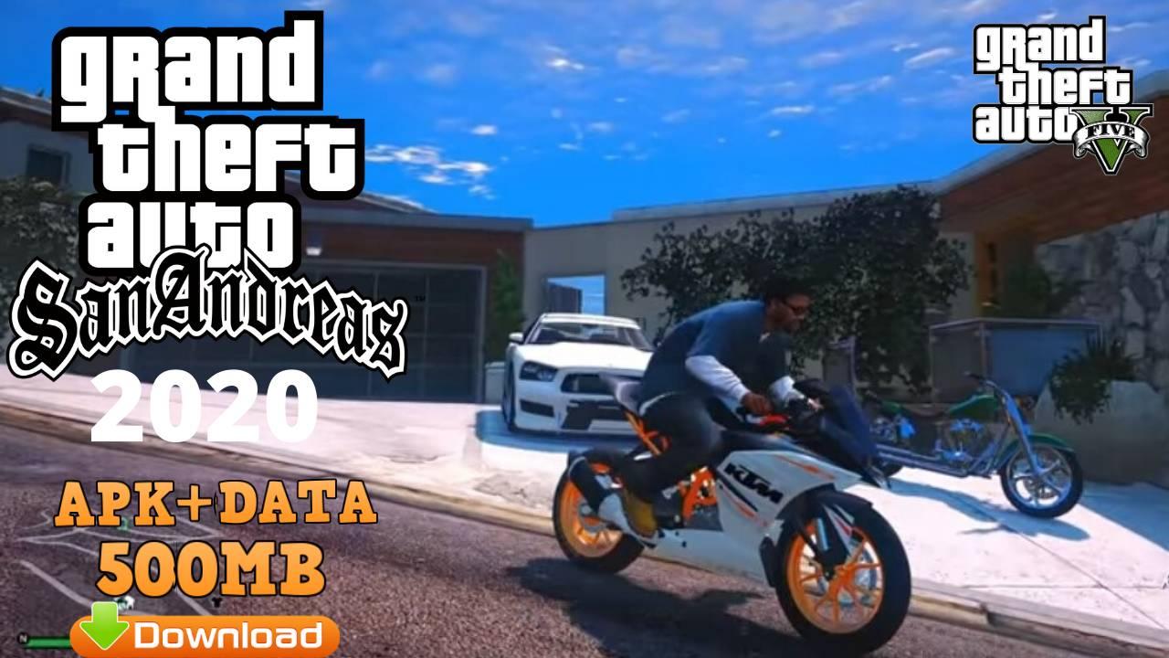 GTA SA Ultra ENB Mod Apk Data Download