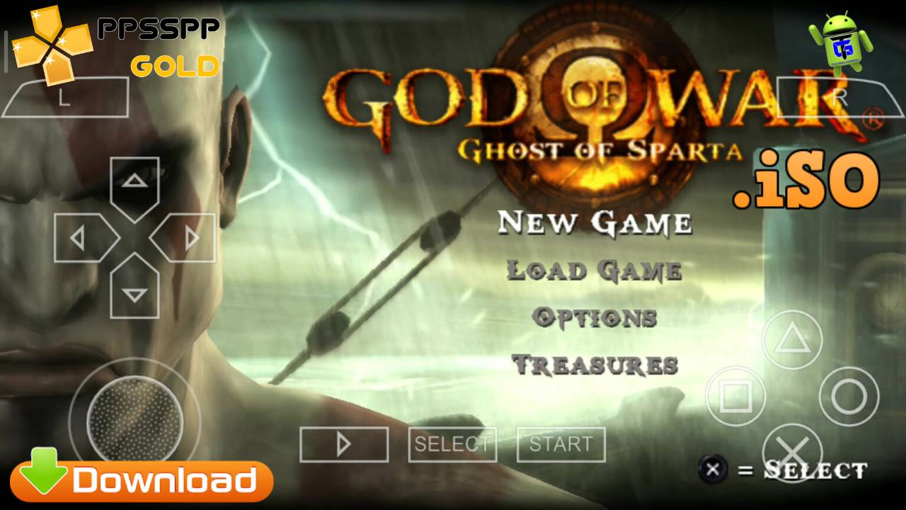 God of War iSO PPSSPP for Android Download