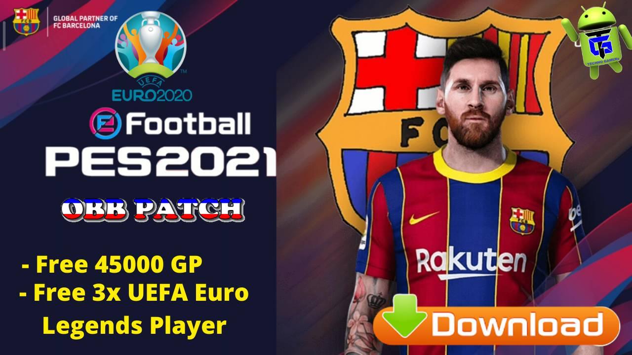 PES 2020 APK EURO OBB Patch Kits 2021 Download