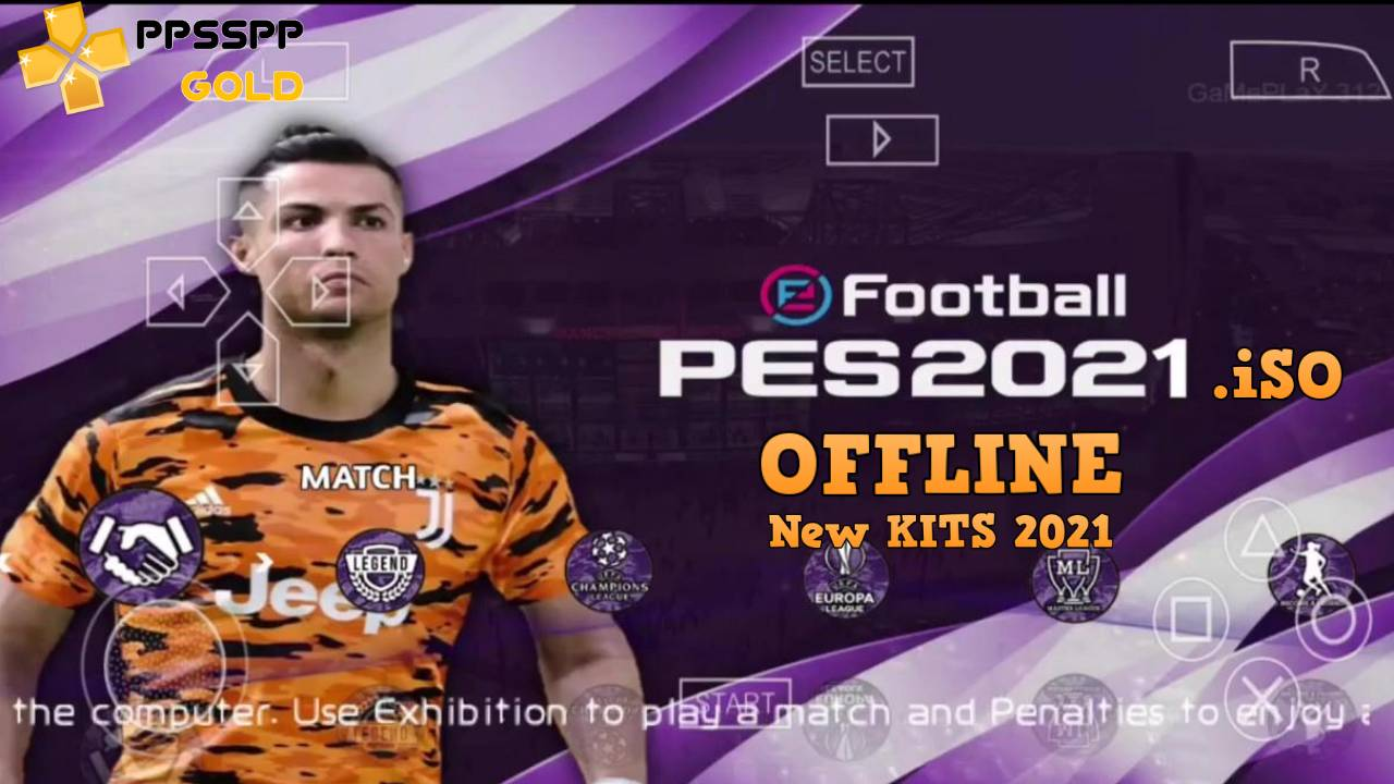 PES 2021 Offline iSO PPSSPP Camera PS4 Download