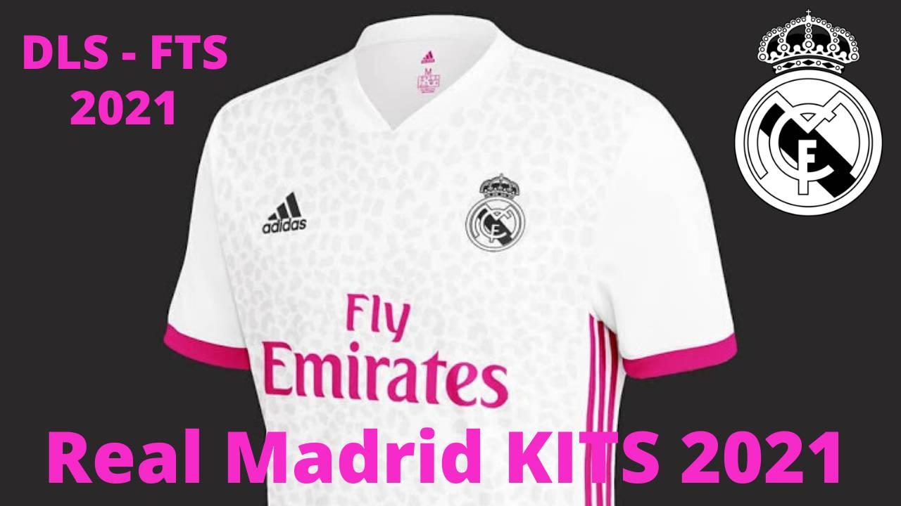 Real Mdrid 2021 Kits DLS 20 - Dream League Socce