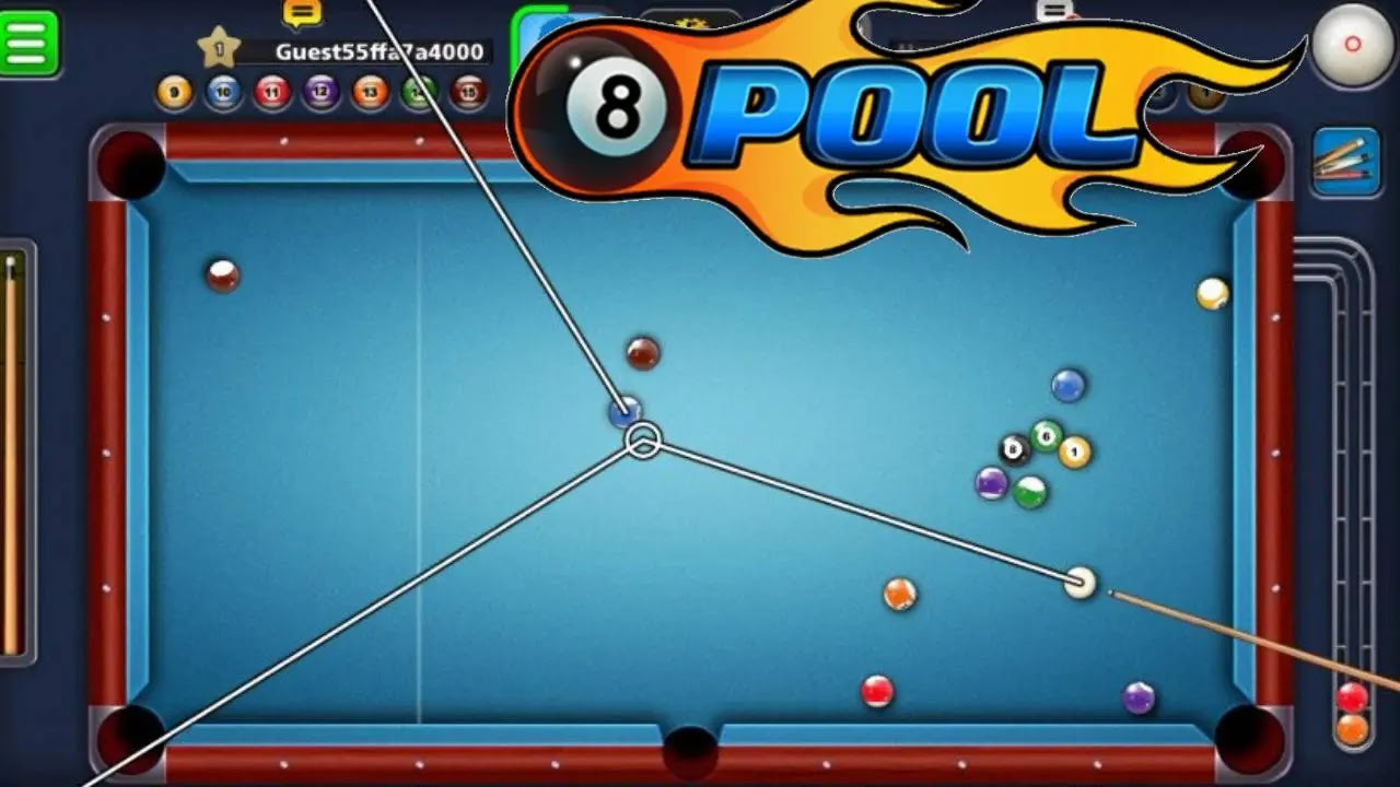 8 Ball Pool Apk Mod Android Long Line Coins Download