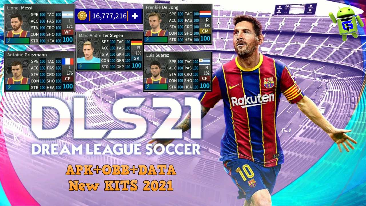 Dream League Soccer 2021 Android Mod Barcelona Download