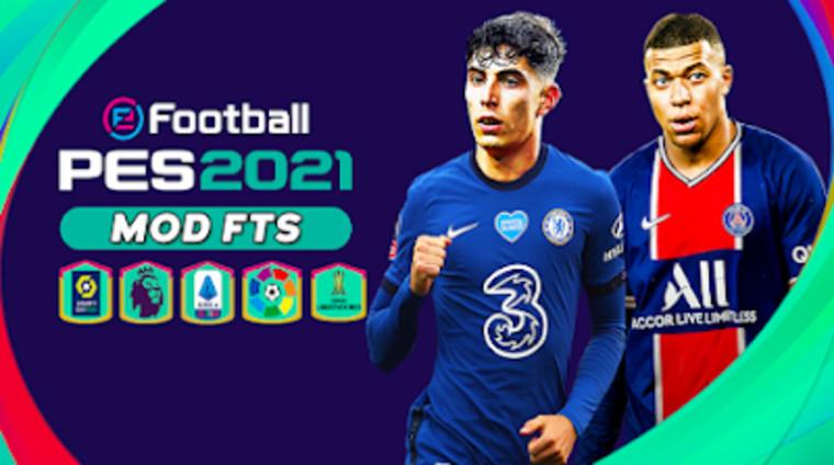 FTS 21 Apk Mod PES 2021 Offline Download