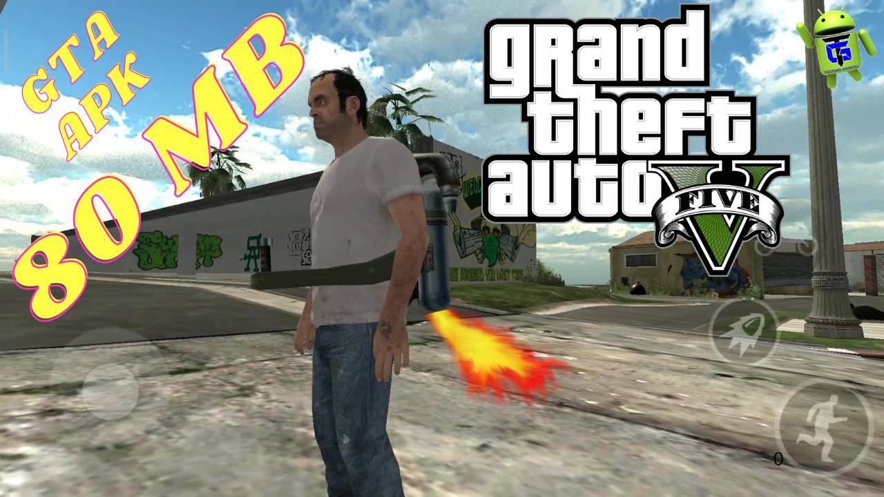 GTA 5 Lite Game APK 80MB Download