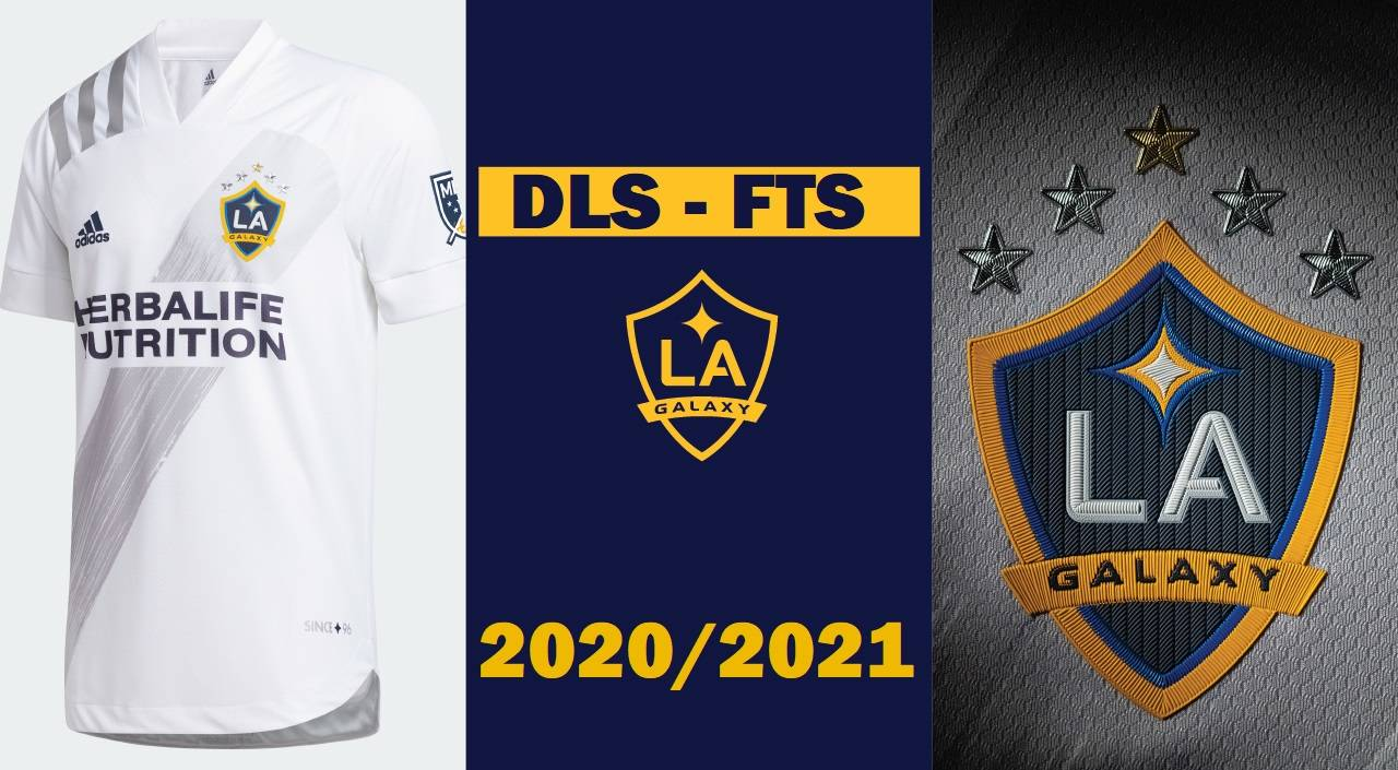 MLS La Galaxy 2021 Kit and Logo Dream League Soccer FTS