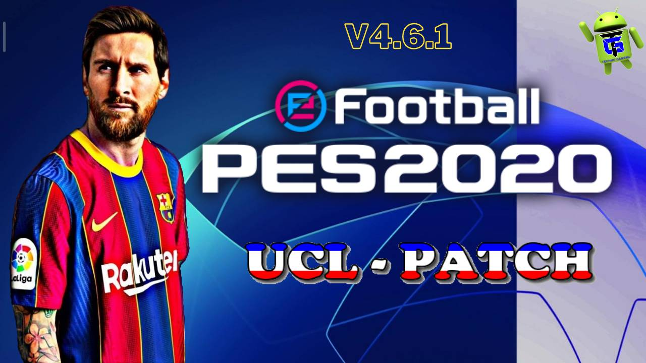 PES 2020 Mobile UCL Patch Download