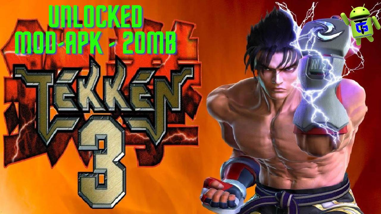 Tekken 3 APK Mod Full Unlocked Characters Download
