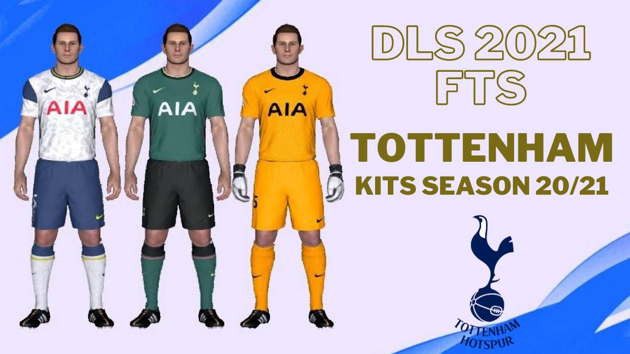 Tottenham 2021 Kit - Logo Dream League Soccer FTS