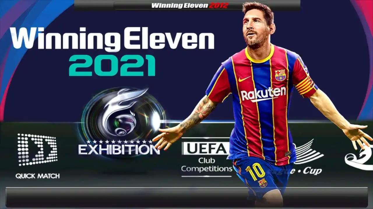 WE 21 Android - Winning Eleven 2021 Mod APK Download