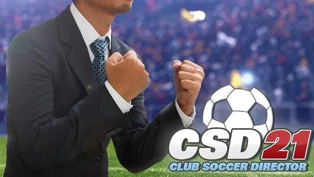 Club Soccer Director 2021 APK MOD Money Badge Download