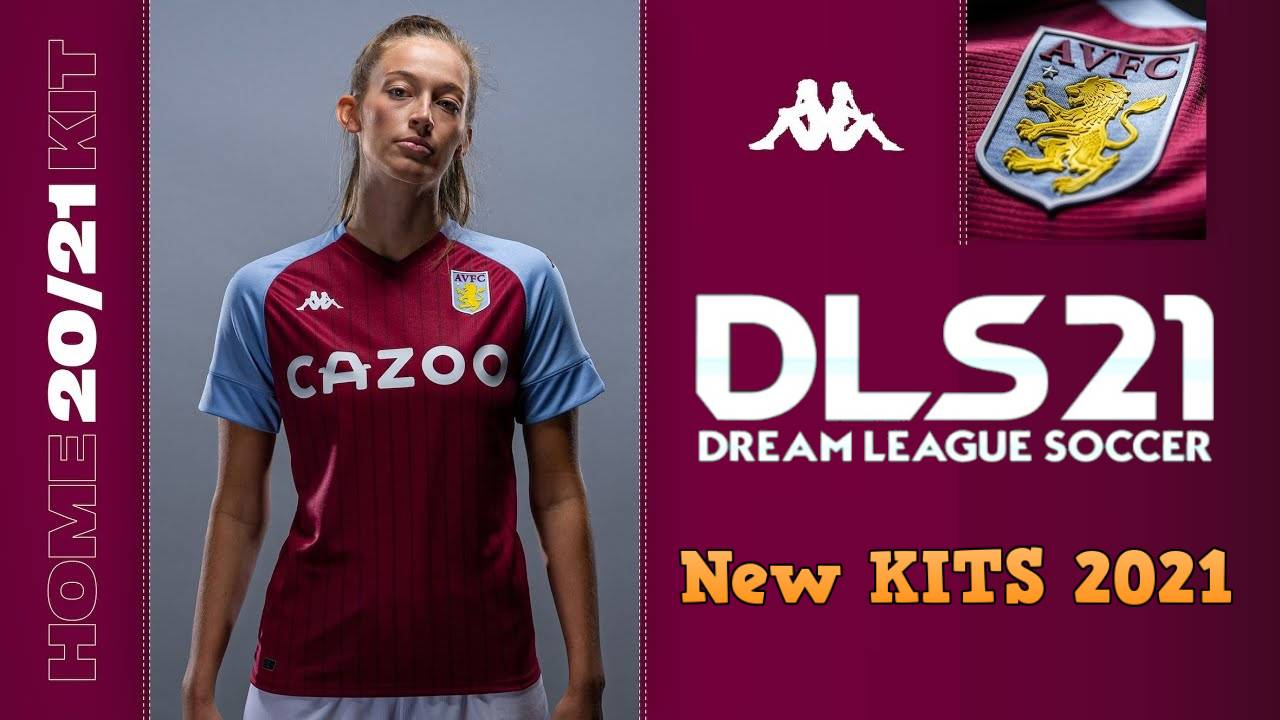 Aston Villa New Kits 2021 DLS 20 Logo FTS 21