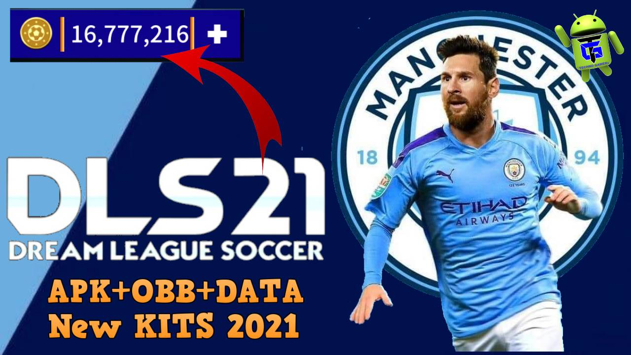 DLS 21 APK Mod Messi on Manchester City Download
