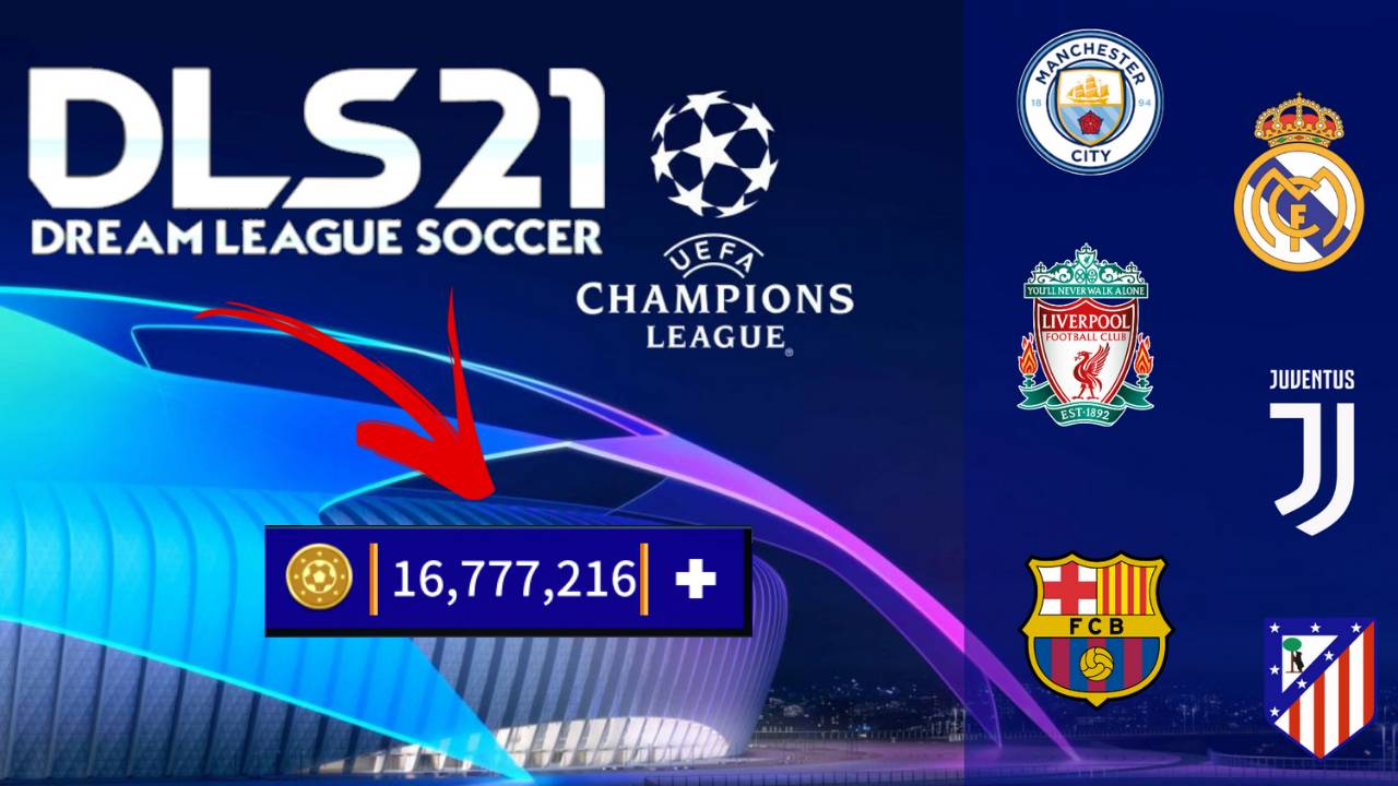 DLS 21 UCL Mod APK Champions League Edition Download