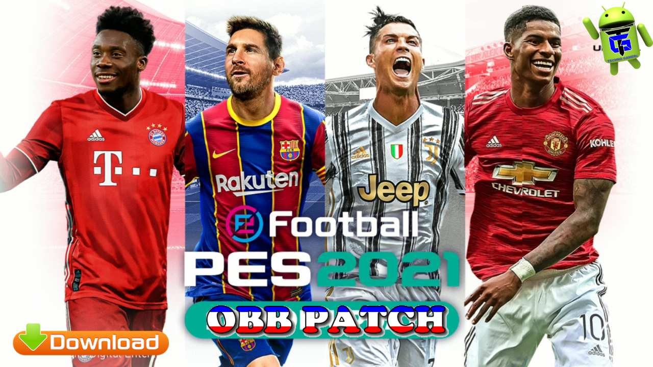 PES 2021 Mobile Patch Android Download