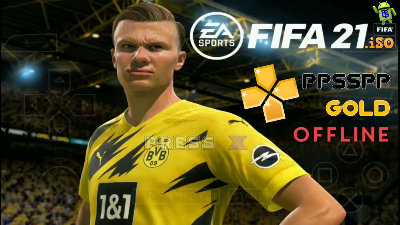 FIFA 2021 PPSPP Android Offline Best HD Graphics Download