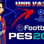 OBB Patch PES 2021 Mobile UCL Champions League