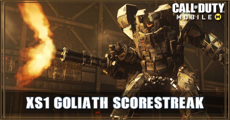Call of Duty Mobile Robot XS1 Goliath Scorestreak