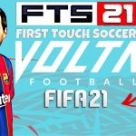 FTS 2021 Mod Fifa 21 Volta APK Android Download
