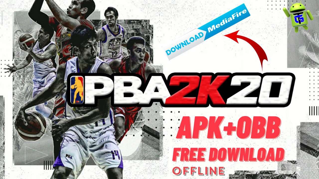 PBA 2K20 Mod Apk Obb unlimited money Download