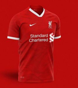 Liverpool 2020-21 Concept Home Kit