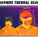 CoronaVirus thermal scanner app for android