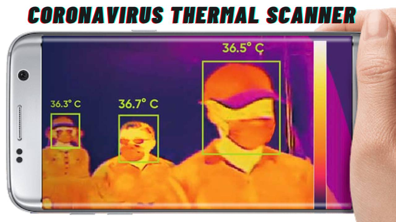 CoronaVirus thermal scanner app for android