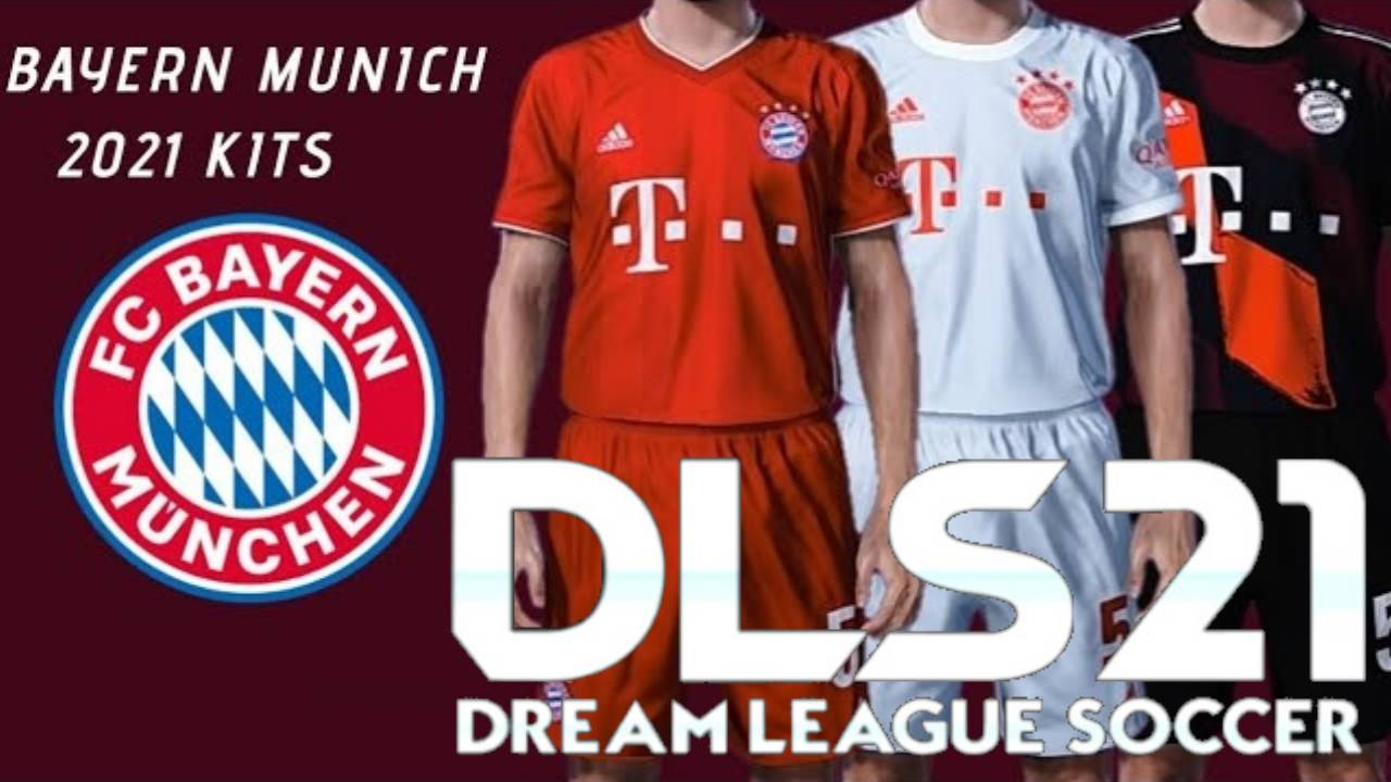 DLS 21 Bayern Munich Kits 2021 – Dream League Socce FTS