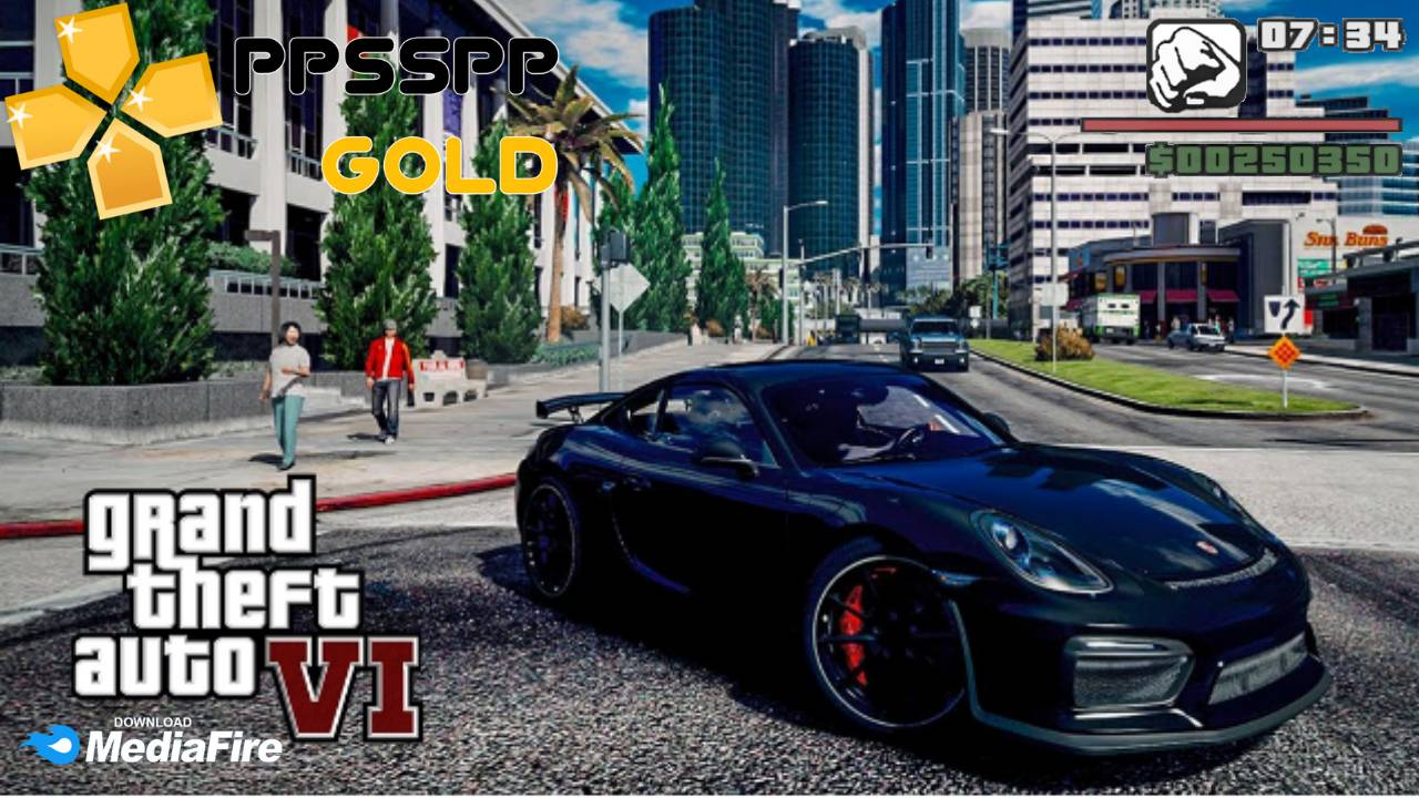 GTA 6 iSO PPSSPP File For Android Download