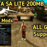 GTA SA Lite Apk Obb Download