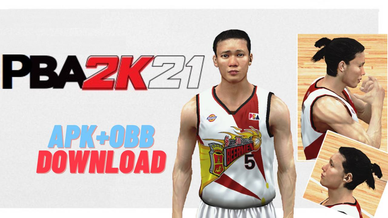 PBA 2K21 APK OBB Android Mobile Download