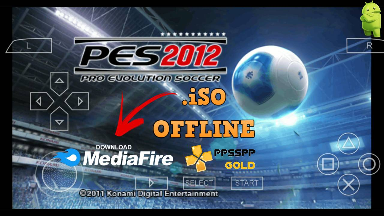 PES 2012 iSO PPSSPP Gold for Android Download