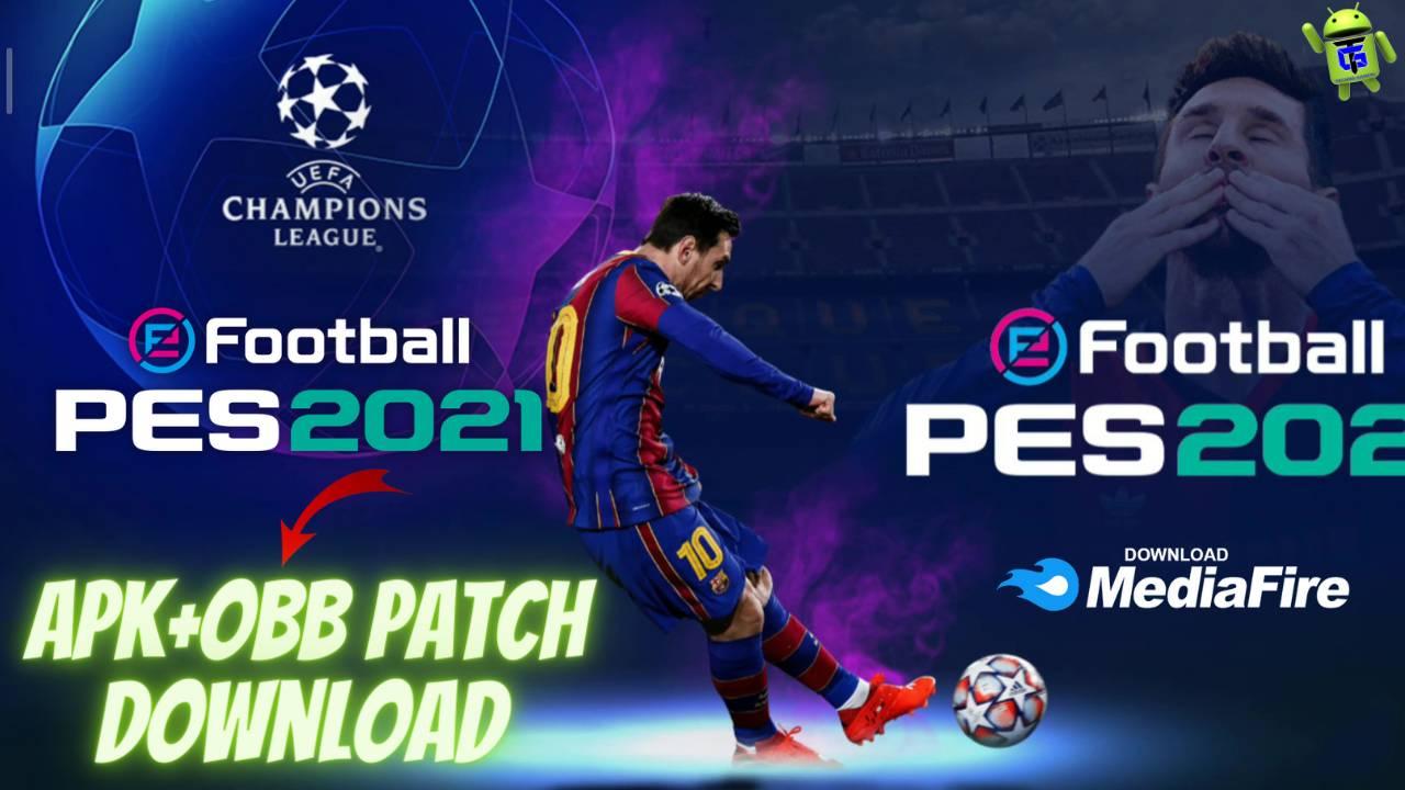 PES 2021 APK Mod Obb Patch Unlimited Money Download