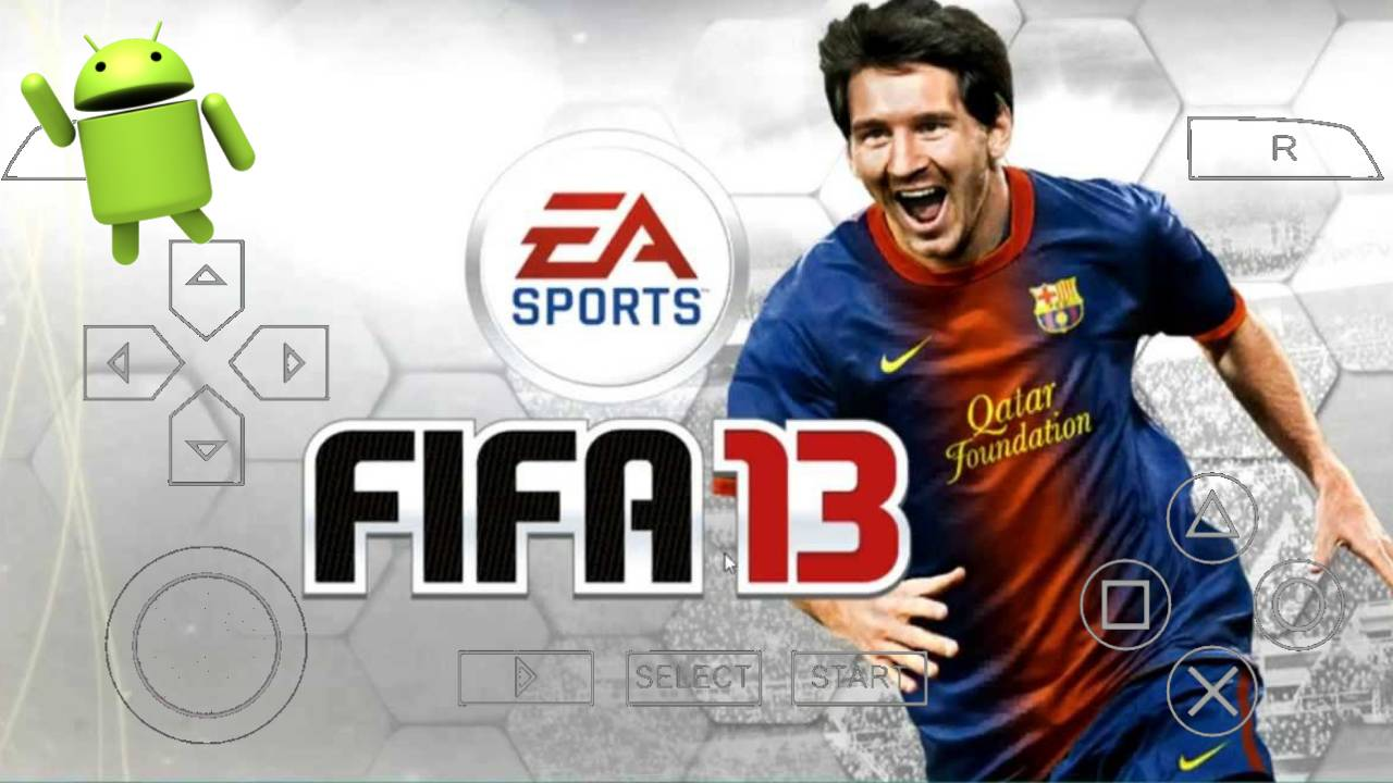FIFA 13 PPSSPP Offline Android Download