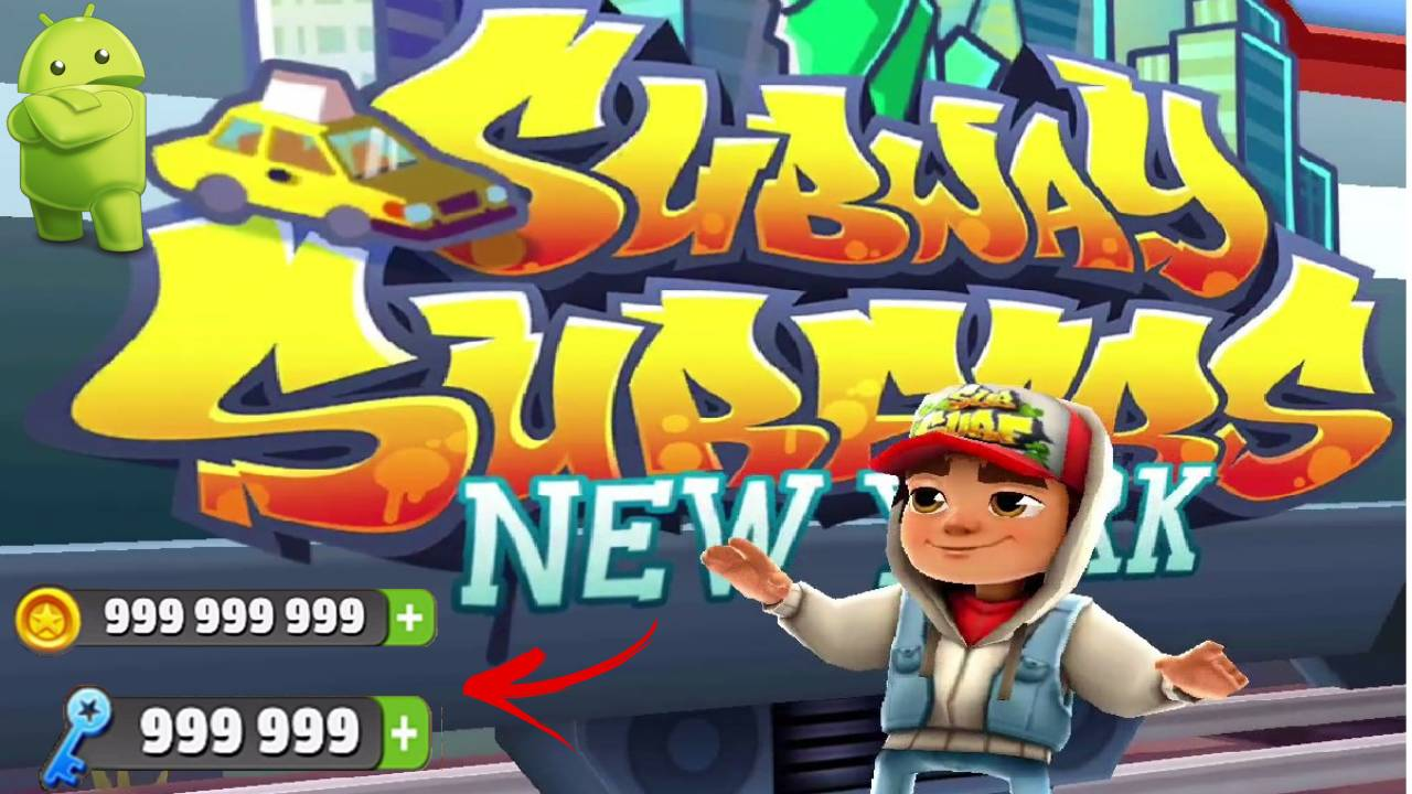 Subway Surfers APK Mod Unlocked Coins and Keys Download