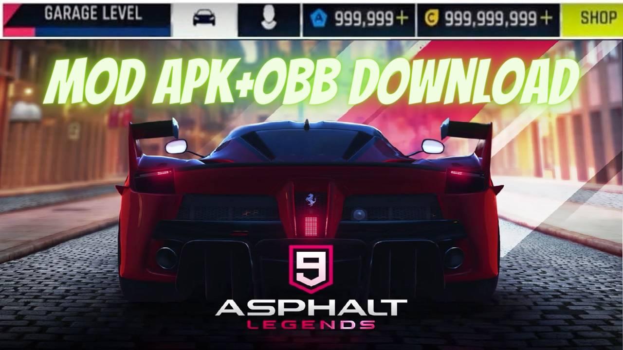 Asphalt 9 Legends MOD APK Unlocked all Cars Download
