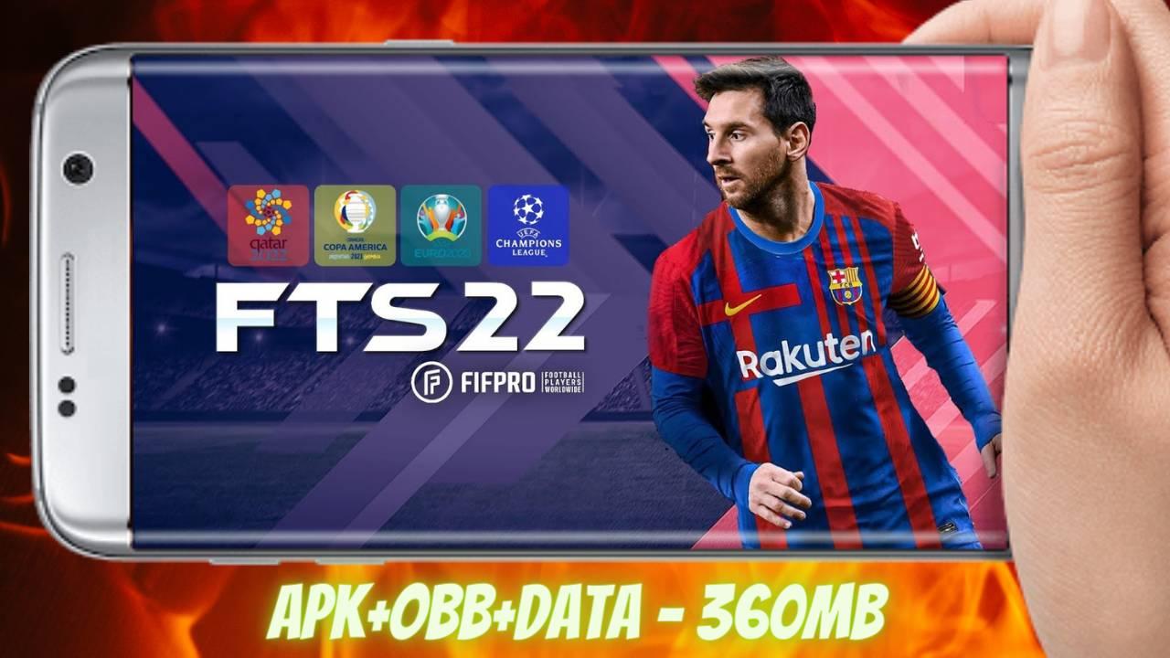 FTS 2022 Mod APK+Obb+Data Money Download