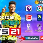 FTS 21 Mod PES 2021 APK Offline Patch Android Download