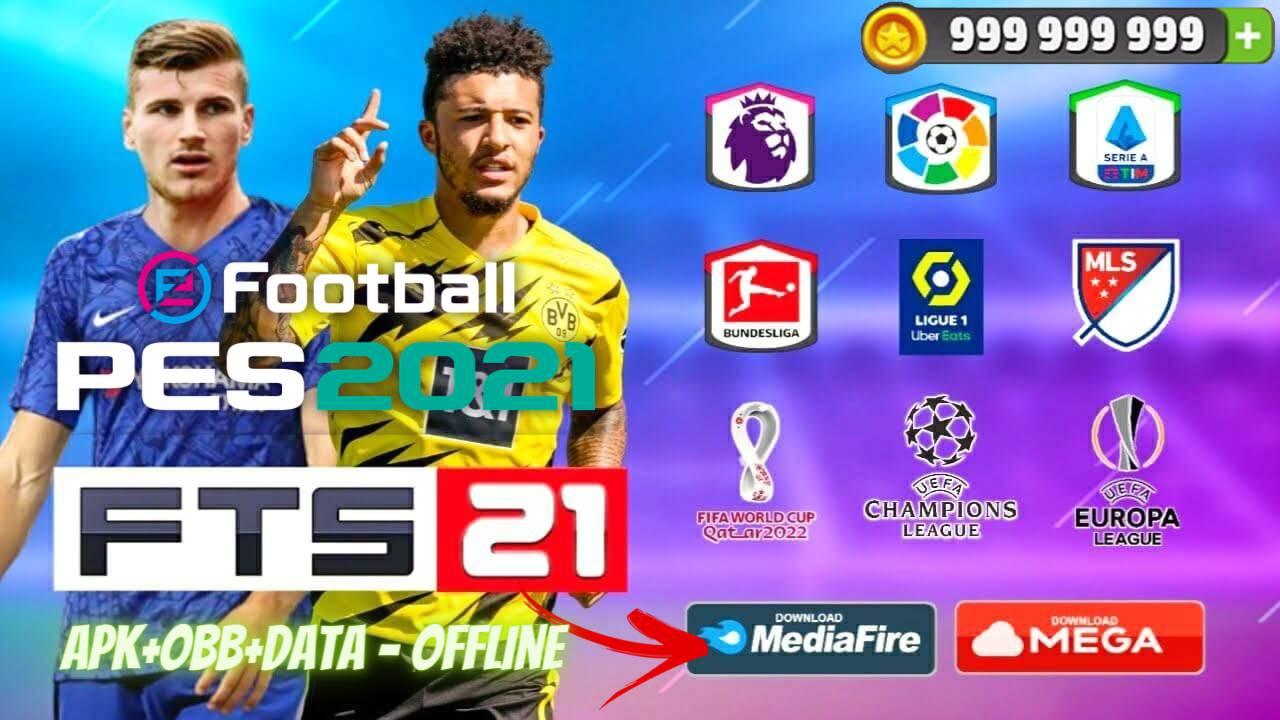 FTS 21 Mod PES 2021 APK Offline Patch Android Download