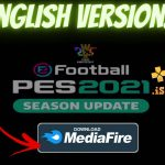 eFootball PES 2021 PPSSPP Android English version Download