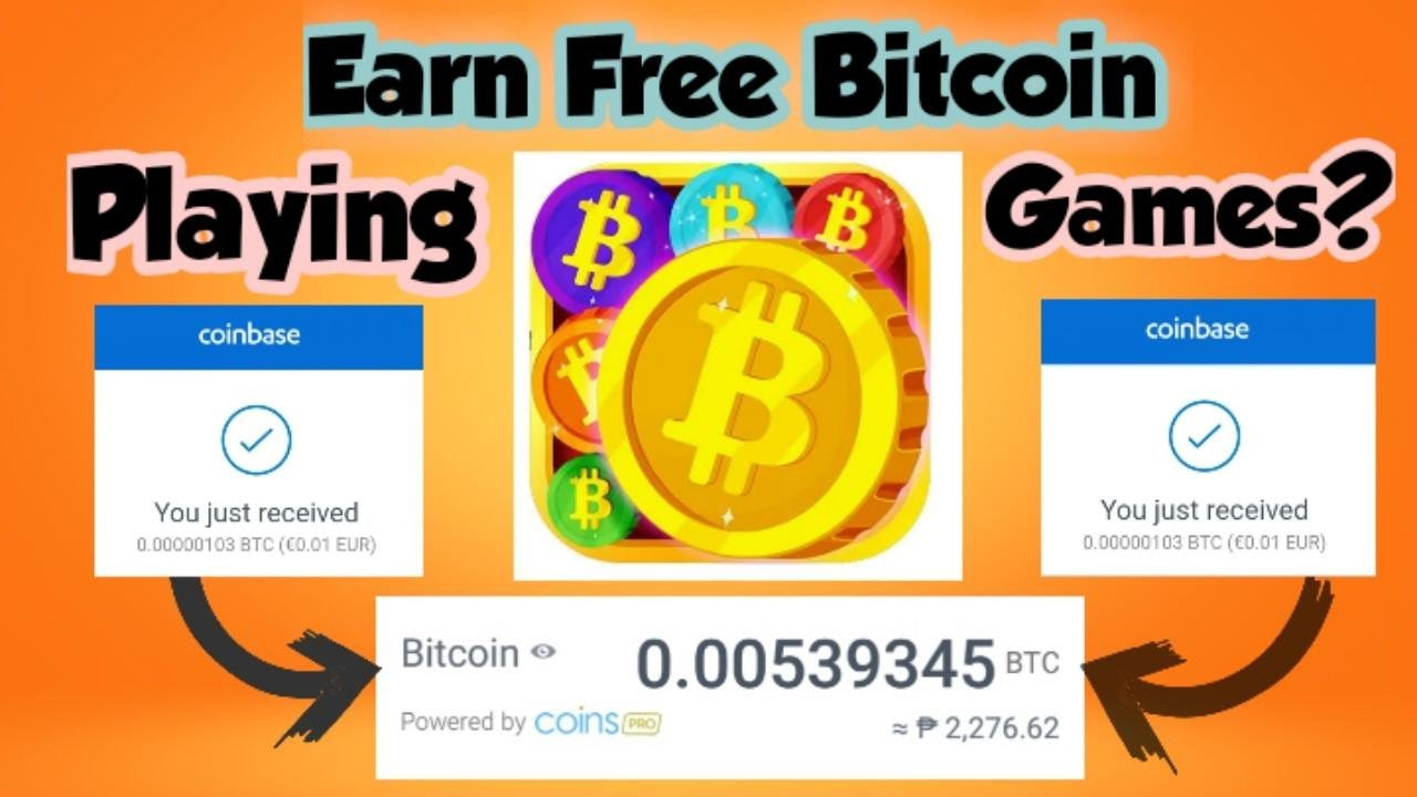 Free Earn Bitcoin BTC to Play Games