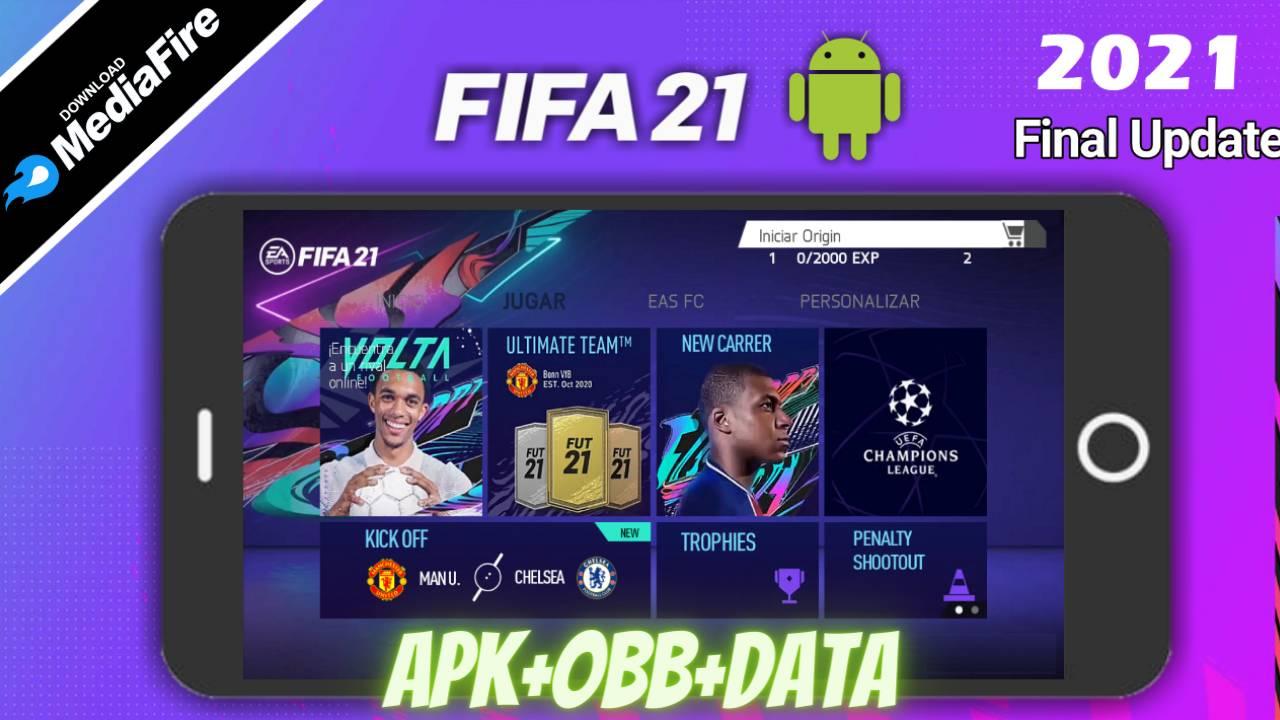 FIFA 21 APK Mod Volta Kits 2021 Download