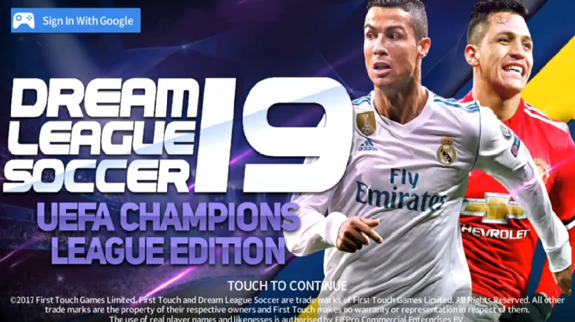 DLS 19 UCL - Dream League Soccer 2019 Android HD Graphics