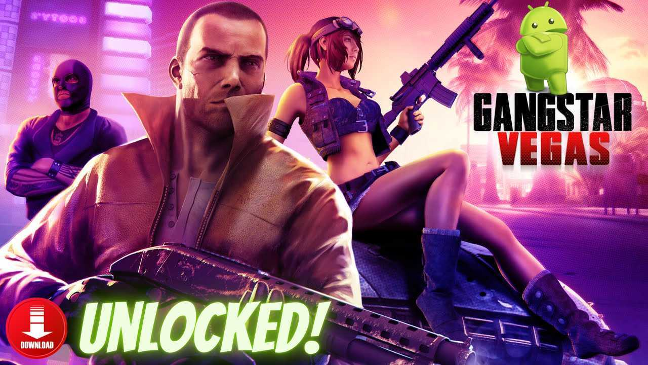 Gangstar Vegas APK OBB Mod Data Unlocked Download