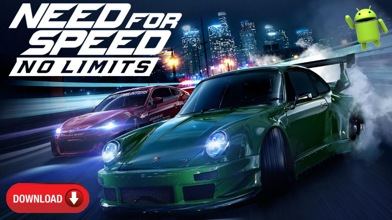 Need for Speed No Limits Mod APK OBB Data Unlocked Download