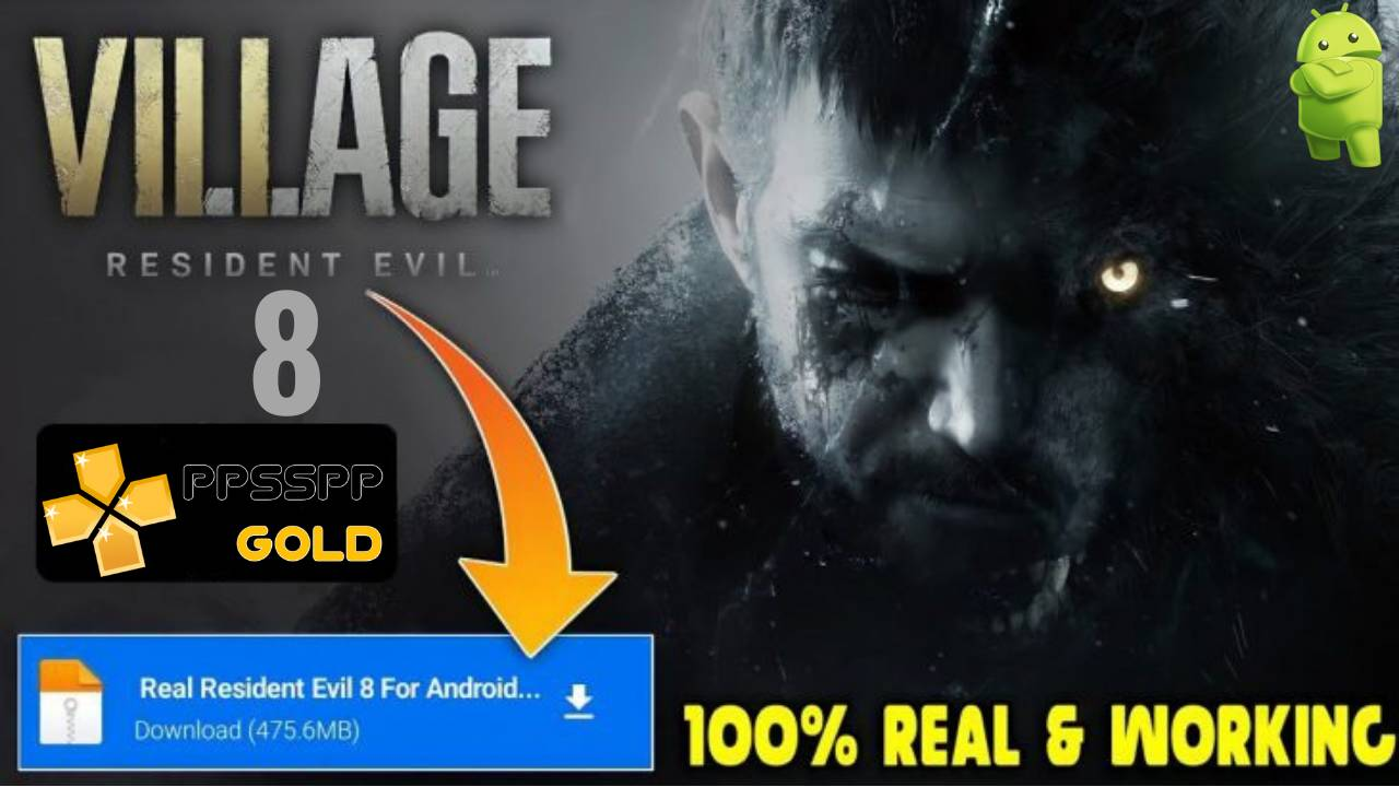 Resident Evil 8 APK PPSSPP for Android Download