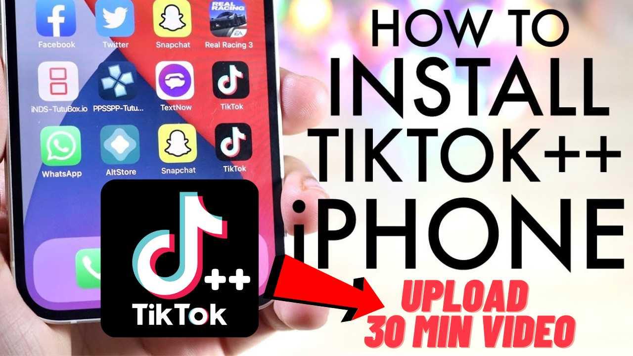 TikTok ++ iPA iOS iPhone Download