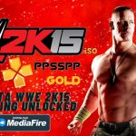 WWE 2K15 iSO PPSSPP Android Unlocked SaveData Download