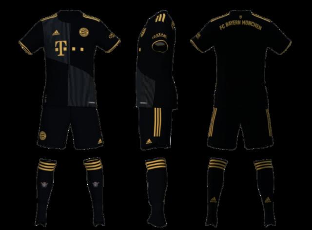 Bayern Munich Away Kit 2022